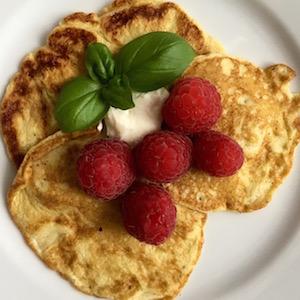 Süße Pfannkuchen LowCarb